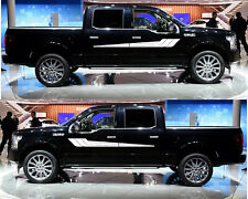 Decal Sticker Vinyl Upper Door Stripes for Ford F150 Off-Road 4x4 Tail Light Kit