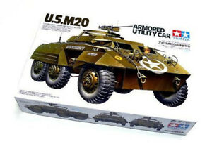 Tamiya Model 35234 1/35 WWII US M20 Armored Utility Scout Car