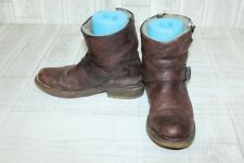 Frye Valerie 6 Ankle Boots-Women's size 10 B Brown