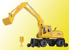 Kibri 16312 Atlas Road and Rail Excavator - PLASTIC KIT - HO Gauge