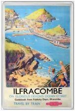 ILFRACOMBE - JUMBO FRIDGE MAGNET - NORTH DEVON COAST SEASIDE RESORT HOLIDAY
