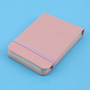 1 pc Candy Color Portable Traveler Stationery Pocket Mini PU Lovely Notepad KV