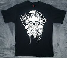 Kottonmouth Kings T Shirt sz Medium Black nwot Rare vtg Skull Graphic