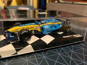 Rare Minichamps 1/43 Fernando Alonso Renault R24 2004