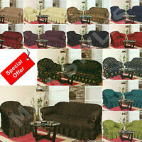 Large Jacquard Sofa Covers Settee Arm Chair Pet Protector Alternate Sofa Throw