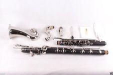 New Bass Clarinet Low C Bb key Ebonite Wood Sweet sound Free PADS Case