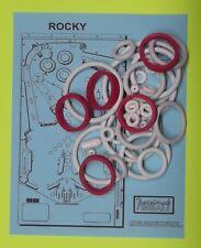 1982 Gottlieb Rocky pinball rubber ring kit