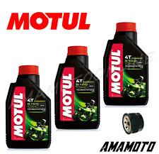 Neues AngebotSet 3 Lt. Öl Motul 5100 10W40 + Ölfilter für Yamaha Tmax 500-530 2008>