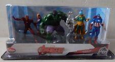 Disney Store Marvel Avengers Initiative 6 Figurine Playset