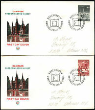 Denmark 1978 National History Museum FDC First Day Cover Set #C40948