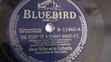Glenn Miller - 78rpm single 10-inch - Bluebird #B-11462 The Story Of A Starry...