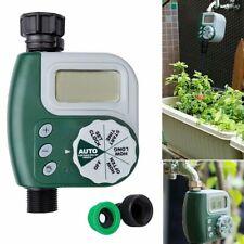 Garden Hose Sprinkler Irrigation Controller Solenoid Water Timer System US STOCK