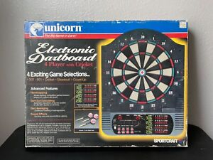 Unicorn Sportcraft Electronic Dartboard Darts Cricket, Shootout Vintage