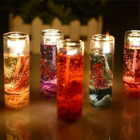 Romantic Smokeless Candles Ocean Shells Jelly Aromatherapy Candles Decoration