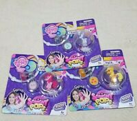 MY LITTLE PONY FRIENDSHIP CHARM PACK SQUISHY POP AGES 4+ LOT OF 3 RARITY/PINKIE/