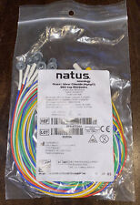 Lot of 500 Natus Grass Silver EEG Cup Electrode 10mm 1m Ref: 019-477200