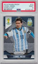 Lionel Messi 2014 Panini Prizm World Cup #12 Mint PSA 9 47705160
