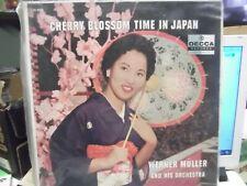 Werner Muller - Cherry Blossom Time In Japan LP VG DL 8603  rare lp