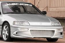 Xenon Polyurethane Front Fascia Bumper Replacement 88 89 90 91 Honda CRX #10251
