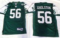 New York Jets Vernon Gholston Football Premier Jersey Green