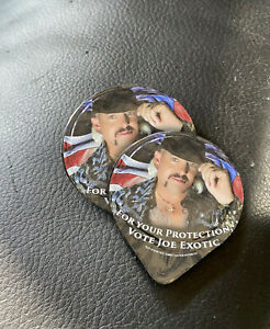 2x Vote Joe Exotic Tiger King Presidential Campaign Condom - For Your Protection