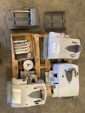 Lot 2 Pitney Bowes Depo Printer, 1 Dm 800, 2 Inserter Trays, 4 Rolls, 6 Red Ink