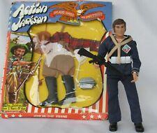 Vintage Lot 1971 MEGO Action Jackson Doll Figure & Sealed Fishing Outfit MINT!