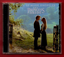 THE PRINCESS BRIDE (OST) (1997 12 tk Remastered CD album) Music by Mark Knopfler