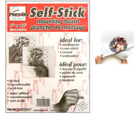 SELF STICK Adhesive Backed Mounting Board for Cross Stitch Needlework 9 x 12