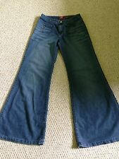 Miss Sixty Lightweight Hippy Flares Bell Bottom Jeans 10/12 Long