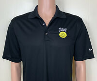 Hubert's Lemonade Embroidered Nike Golf Short Sleeve Polo Shirt Men's Small NWT