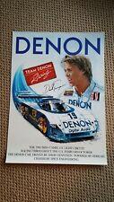 Denon Racing Camel Gt Ferrari Poster Bieri Racing 1989 Sebring Daytona Imsa