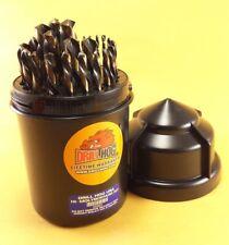 29 Pc Left Hand Drill Bits Drill Bit Set Handed Drill Hog® Lifetime Warranty