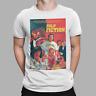 Pulp Fiction T-Shirt Poster Movie Print Samuel L Jackson Mia Wallace Tee Retro