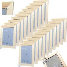 20 Stück Set IKEA VANKIVA 21x30 cm. DIN A4 Holz Foto Bilderrahmen Kiefer NEU&OVP