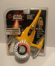 STAR WARS EPISODE I ELECTRONIC HAND -HELD NABOO  FIGHTER  HASBRO 1999