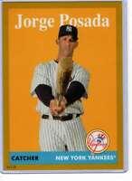 Jorge Posada 2019 Topps Archives 5x7 Gold #85 /10 Yankees