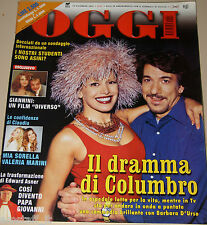 OGGI=2001/51=BARBARA D'URSO=MARCO COLUMBRO=EDWARD ASNER=GIANCARLO GIANNINI=OXA=