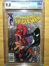 Amazing Spider-Man #258 CGC 9.8 WP Alien costume revealed Newsstand