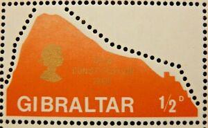 GIBRALTAR 1969 SG236 ½d. NEW CONSTITUTION  -  MNH