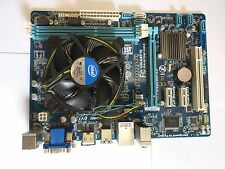 GIGABYTE GA-B75M-HD3  LGA 1155 MB with Intel Core i5 2500K CPU with heatsink fan