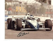 Autographed Ed Pimm CART Indy Car Racing Photograph