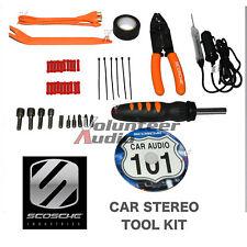 Scosche TK12 Complete Car Stereo Sound System Installation Tool Kit W/ Bonus DVD