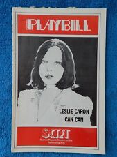 Can-Can - Sunrise Musical Theatre Playbill - August 16th, 1977 - Leslie Caron