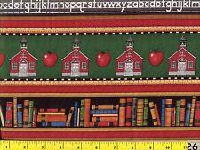 School Days Stripe Quilting Fabric by Yard #998