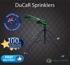 """DuCaR Green 100 -  2"""" Part Circle Gear Drive Sprinkler with Quick Coupling STAND"""