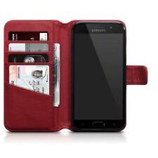 Fundas con tapa Para Samsung Galaxy A5 color principal rojo para teléfonos móviles y PDAs
