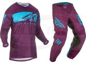 Fly Racing Kinetic Shield Jersey Pant Combo Set MX Riding Gear MX/ATV Motocross