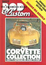 Hot Rod & Custom Magazine 1980 - Chevrolet Corvette Can Am Mk2 Ford Zodiac Sedan