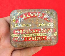 VINTAGE CALVERT'S MEDICAL SOAP ADV. LITHO TIN BOX, ENGLAND